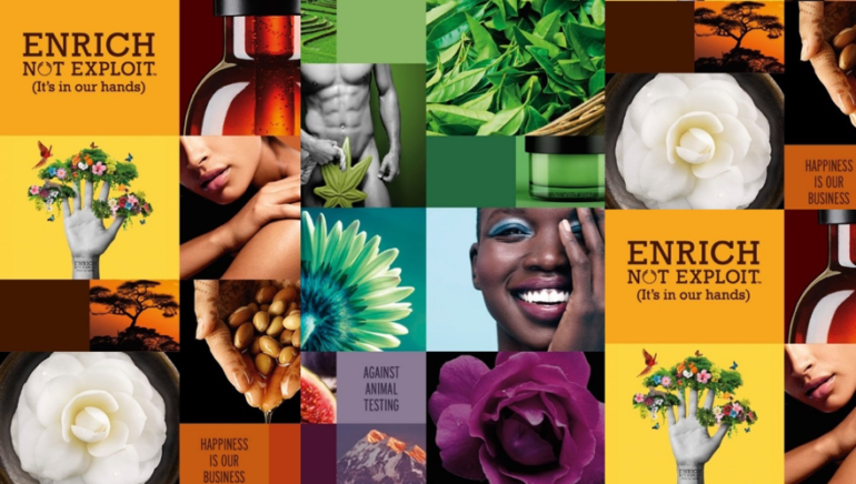 3 RULES OF BEAUTY BRAND COMMUNICATIONS. CASE STUDY: THE BODY SHOP