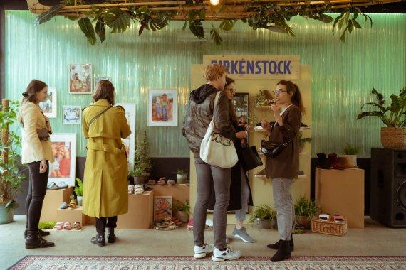 Las korkowy w centrum miasta, czyli prezentacja kolekcji marki BIRKENSTOCK