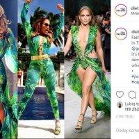 Jennifer Lopez x Versace – najbardziej komentowany duet mediolańskiego tygodnia mody
